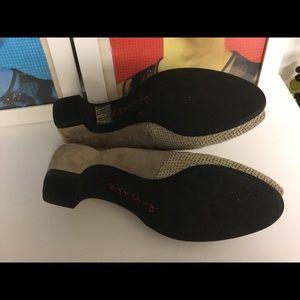 pas ole rouge Shoes - Pas Ole Rouge tan color suede mules size 39